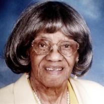 Mrs. Sadie Lee Vance