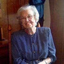 Miss Blanche Virginia Hunter