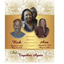 Mr. & Mrs. Richard & Annie Martin