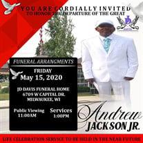 Mr. Andrew Jackson  Jr.