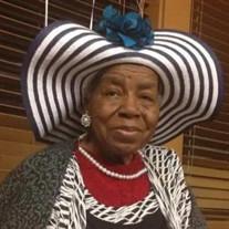 Mrs. Izzie Mae Cowdery
