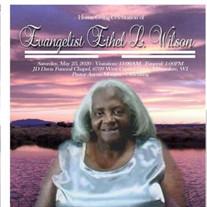 Evangelist Ethel  L. Wilson