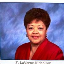 Mrs.  Faye Laverne Nicholson