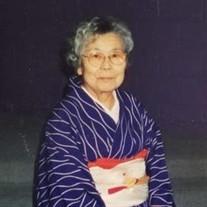 Masayo Fujima (née Takemasa)