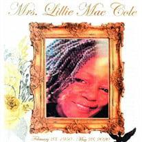 Lillie Mae Cole
