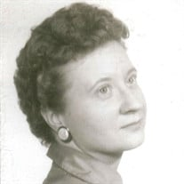 Alma McWhorter Gregory