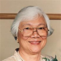Mrs. Florencia Borromeo of Pingree Grove
