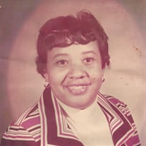 Mrs. Betty Jean Alexander