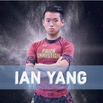 """Yu-Cheng """"Ian"""" Yang"""