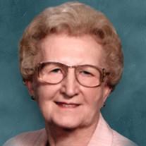 Mrs. Ruth E. McCallie Hamilton