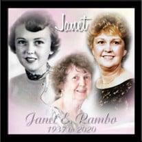 Mrs. Janet E. Rambo