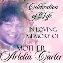 Mother Artelia Carter