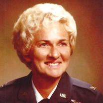 Colonel Phyllis P. Parcells USAF (Ret)