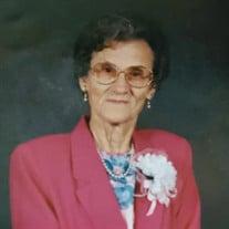 Mrs. Annie McCullough Davis Thompson
