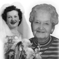 Mrs. Gladys Jean Mary Collins (Levi)