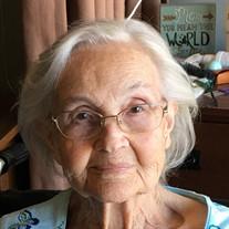 Lottie Faye Taylor of Pocahontas, TN