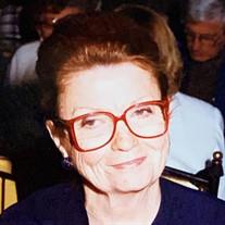 Mrs. Mary Hardin Getsinger