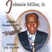 Johnnie Miller, Jr.