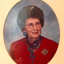 Mrs. Clessie Ellenburg Evans