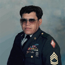 SFC David C. Dominguez, USA, Ret.