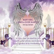 Baby Girl Jamila Rose Martin