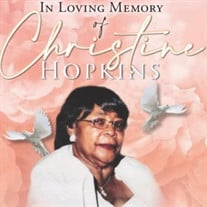 Mrs. Christine Thompson Hopkins