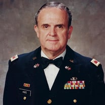 "Colonel Robert Taylor ""Bob"" Agee, JR, U.S. Army Retired"