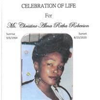 Ms. Christine Alma R. Roberson