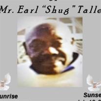 """Earl """"Shug"""" Talley"""