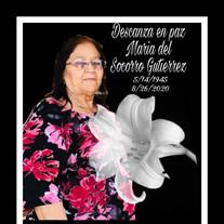 Maria de Socorro Gutierrez