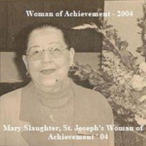 Mrs. Mary Slaughter