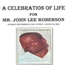 Mr. John Lee Roberson
