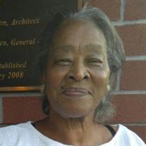 Mrs. Janie Mae Sanders Washington