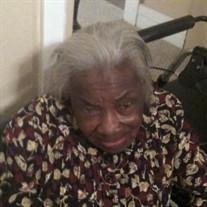 Mrs. Fannie Mae Sutton