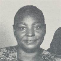 Mrs. Bertha Rea Brown