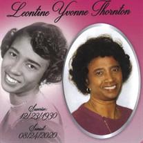 Mrs. Leontine Yvonne Thornton