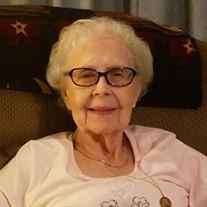 Mrs. Mary Doris Cantrell Jones