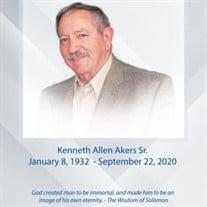 Kenneth Allen Akers, Sr.