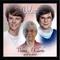 Velma Jane Clarke
