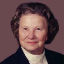 Mrs. Ethel Madeline Erdman