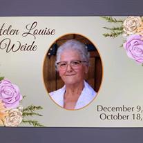 Helen Louise Weide