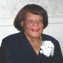 Mrs. Arzona Evans