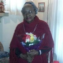 Mrs. Cora Jean Lowe