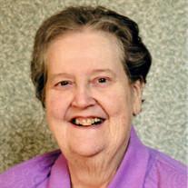 "Sister Kenneth  ""Cass"" Maire Botta SSND"
