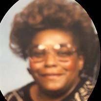 Mrs. Alice Bessie Riggsbee