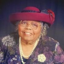 Mrs. Arlene Virginia Trotter Hill