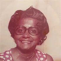 Mrs. Spentzen Johnson Martin