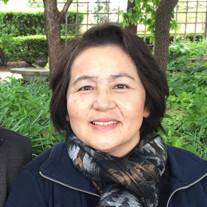 Mrs. Harue K Hibner of schamburg