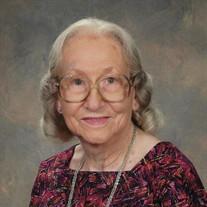 Martha Frances Van Vleet