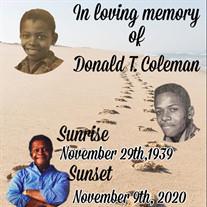 Donald Thomas Coleman
